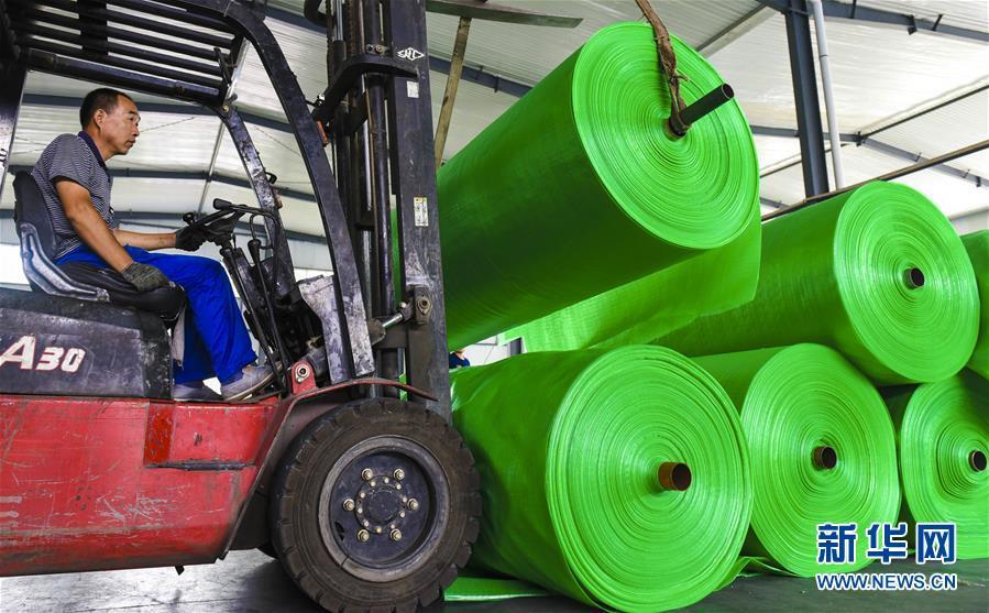 (經濟)(1)河北景縣:研發環保應用橡塑產品 助力企業轉型升級
