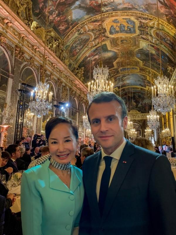 携程孙洁受法国总统马戴尔解说优酷空间克龙接见 中法旅游市场增