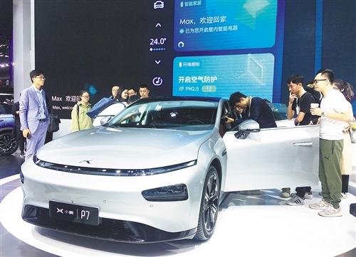 广州国际车展:新能源车攻势提速