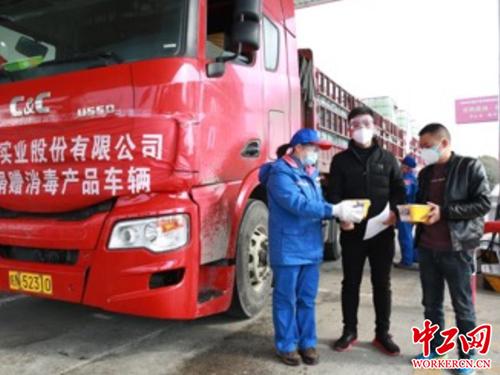 中石化加油站站长_中石化湖北销售公司为防疫提供免费餐食、加油-中工企业-中工网
